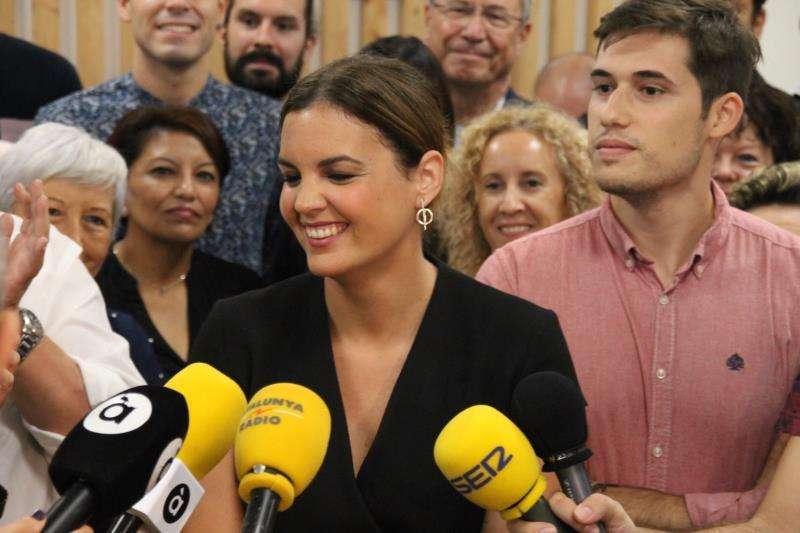 La concejala de Desarrollo Económico Sostenible y responsable de València Activa, Sandra Gómez FOTO ARCHIVO