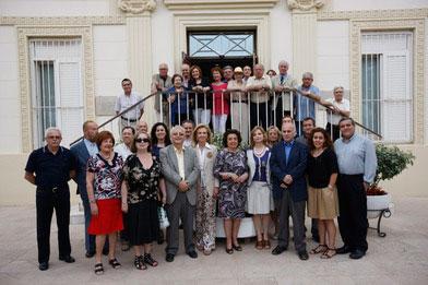 Algunos de los participantes en un curso sobre Blasco Ibáñez. FOTO VALENCIA.ES