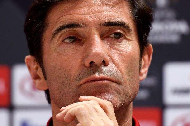 El entrenador del Valencia, Marcelino García Toral. EFE/Archivo