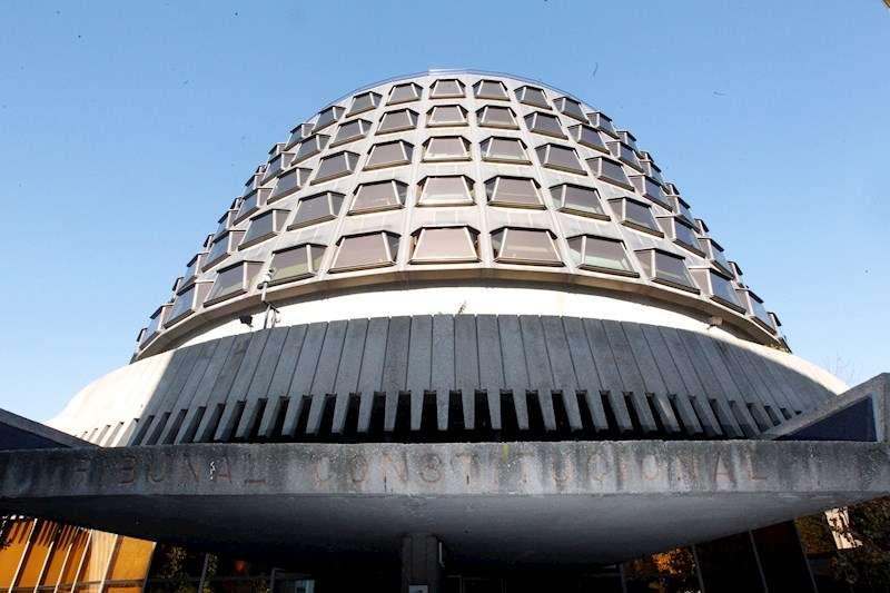 Fachada del edificio del Tribunal Constitucional en Madrid. EFE