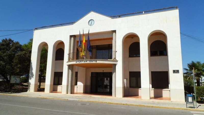El Ayuntamiento de Domeño. //EPDA