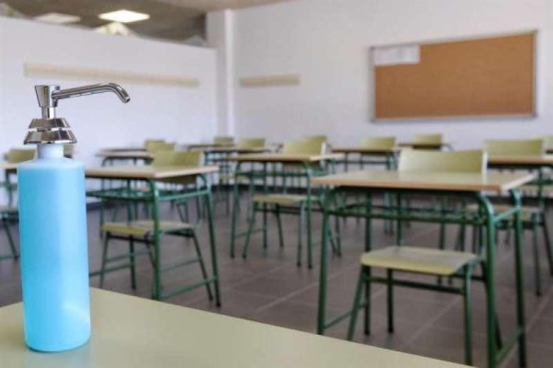 Aula vacía de un colegio. EPDA/Archivo
