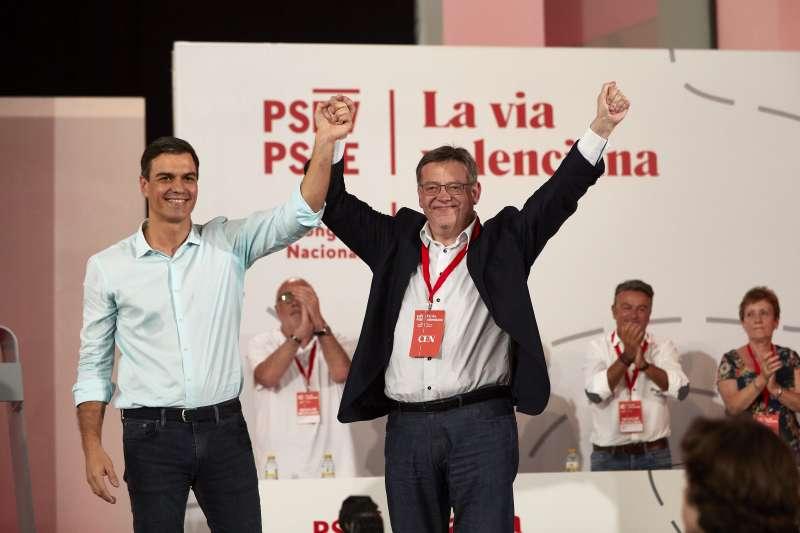 Pedro Sánchez asiste al 13 Congreso Nacional del PSPV-PSOE.