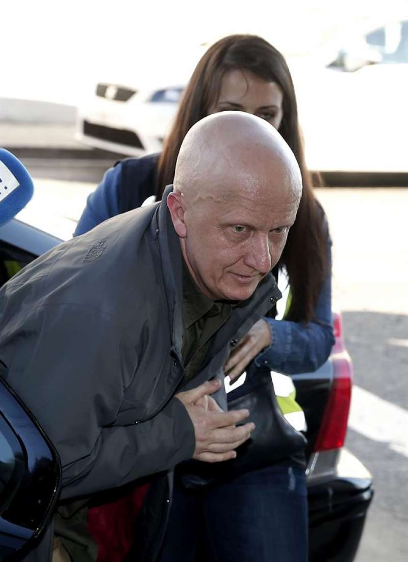 Paco Sanz, conocido como el hombre de los 2.000 tumores, en una imagen de archivo. EFE/Manuel Bruque