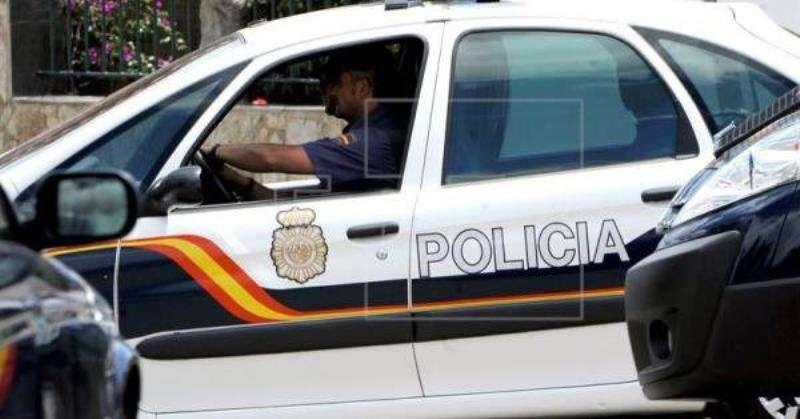 Imagen de un vehículo policial. EFE/Archivo