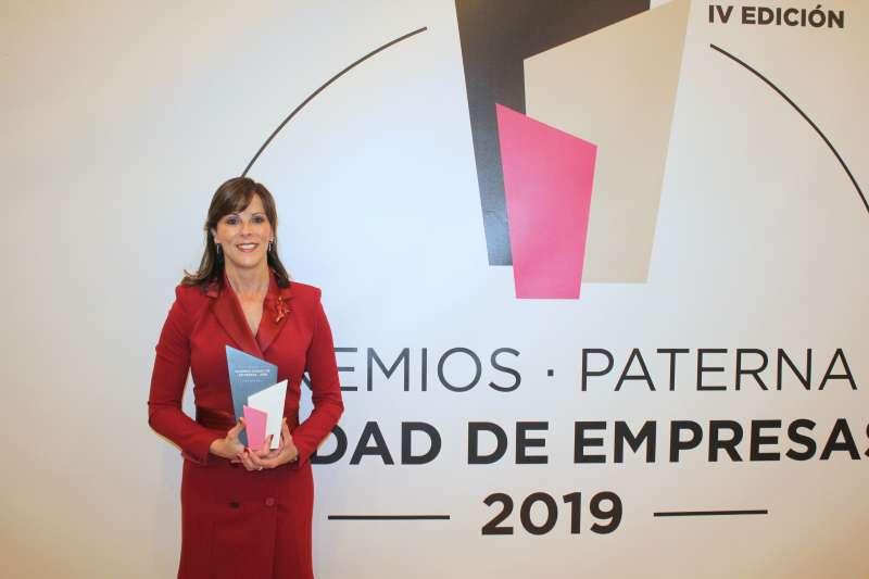 Maite Marín. Premio Mujer Empresaria Ciudad de Empreas Paterna- EPDA