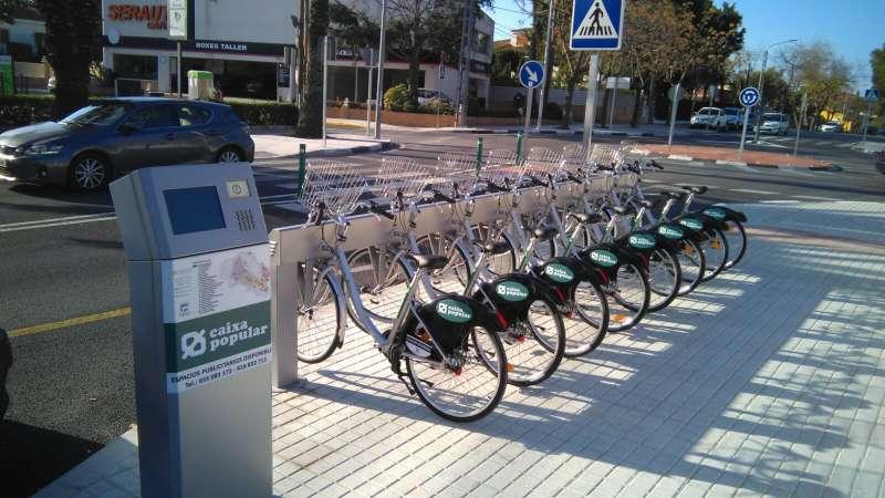 Bicicletas eléctricas en Paterna. EPDA