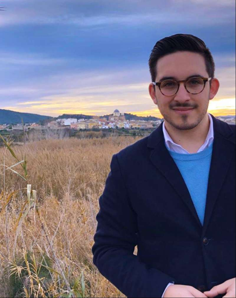 Victor Troyano, candidato del Partido Popular a la alcaldía de Villamarxant./EPDA