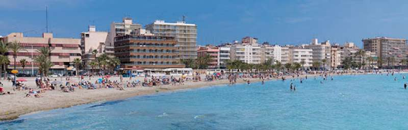 Playa de Santa Pola. EPDA