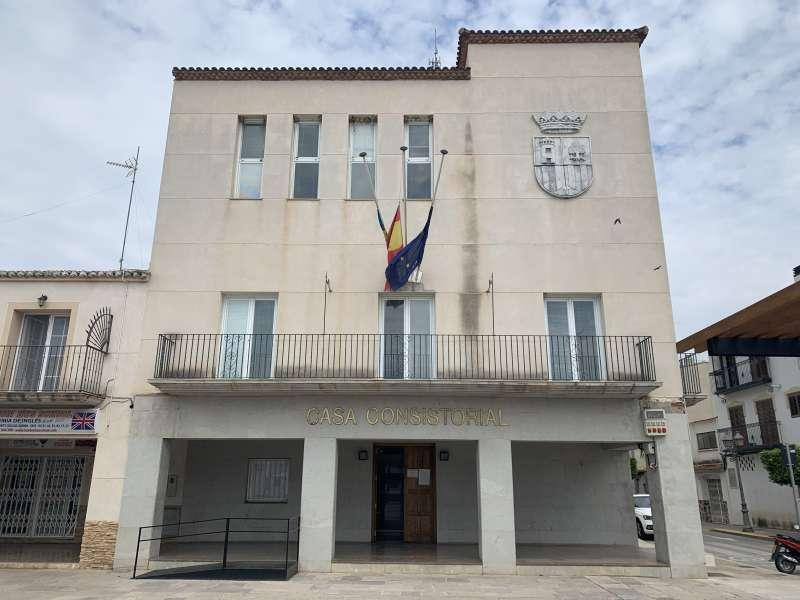 Ayuntamiento de San Antonio. / EPDA