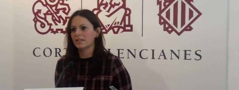 La portavoz de Educación del Grupo Parlamentario Popular en Les Corts, Beatriz Gascó