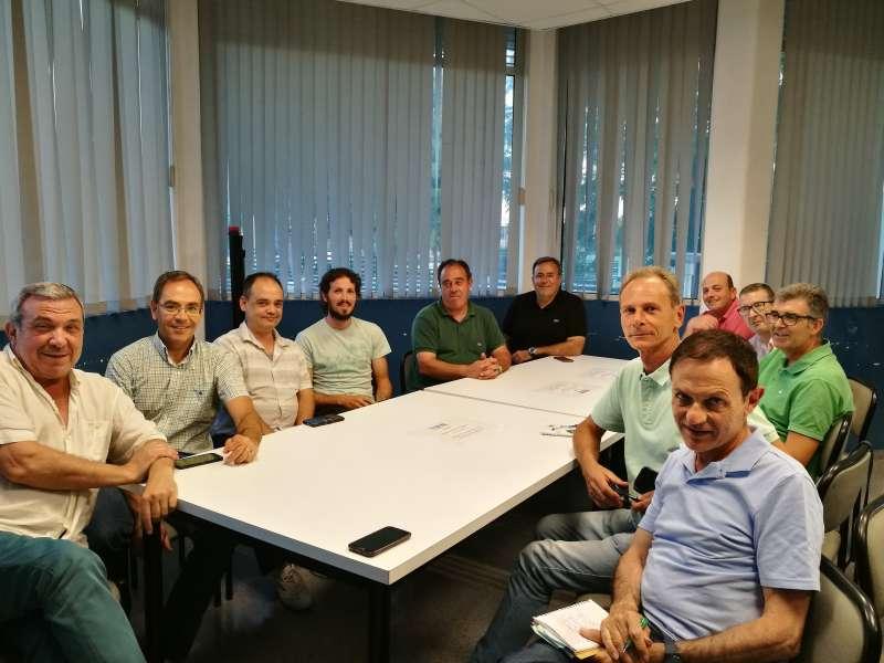 Reunió del regidor Aguado amb els membres del Congrés