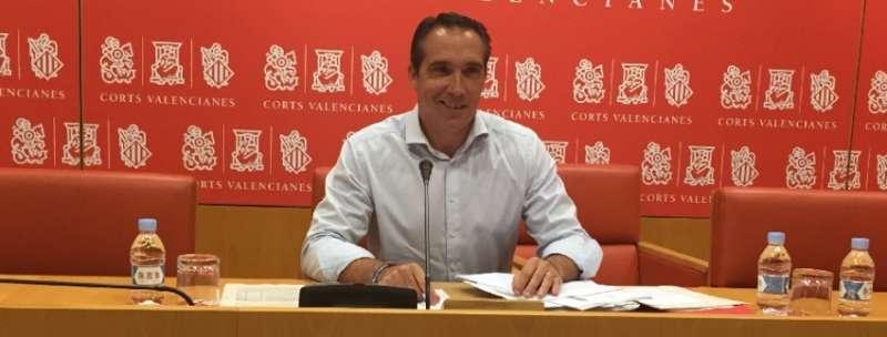 El portavoz de Economía del Grupo Parlamentario Popular (GPP), Rubén Ibáñez.