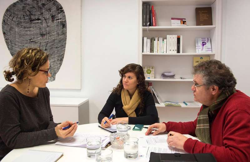 Reunión de la Diputació de València con el Consorcio Palancia Belcaire. EPDA
