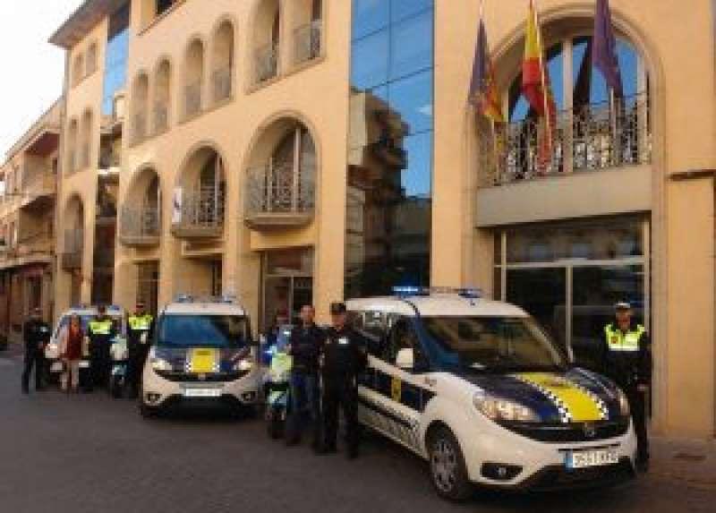 Policía Local de Benaguasil. / EPDA