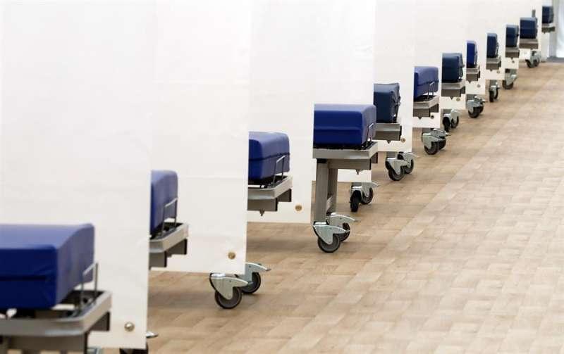 Imagen de camas en un hospital de campañaEFE/ Juan Carlos Cárdenas/Archivo