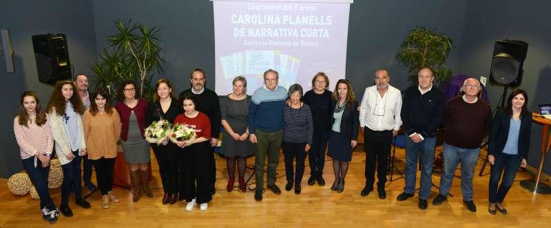 Lliurament dels Premis Carolina Planells de narrativa curta contra la violència de gènere a Paiporta EPDA