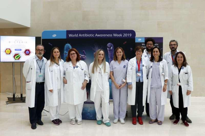 Profesionales del Hospital La Fe, Val�ncia. -EPDA