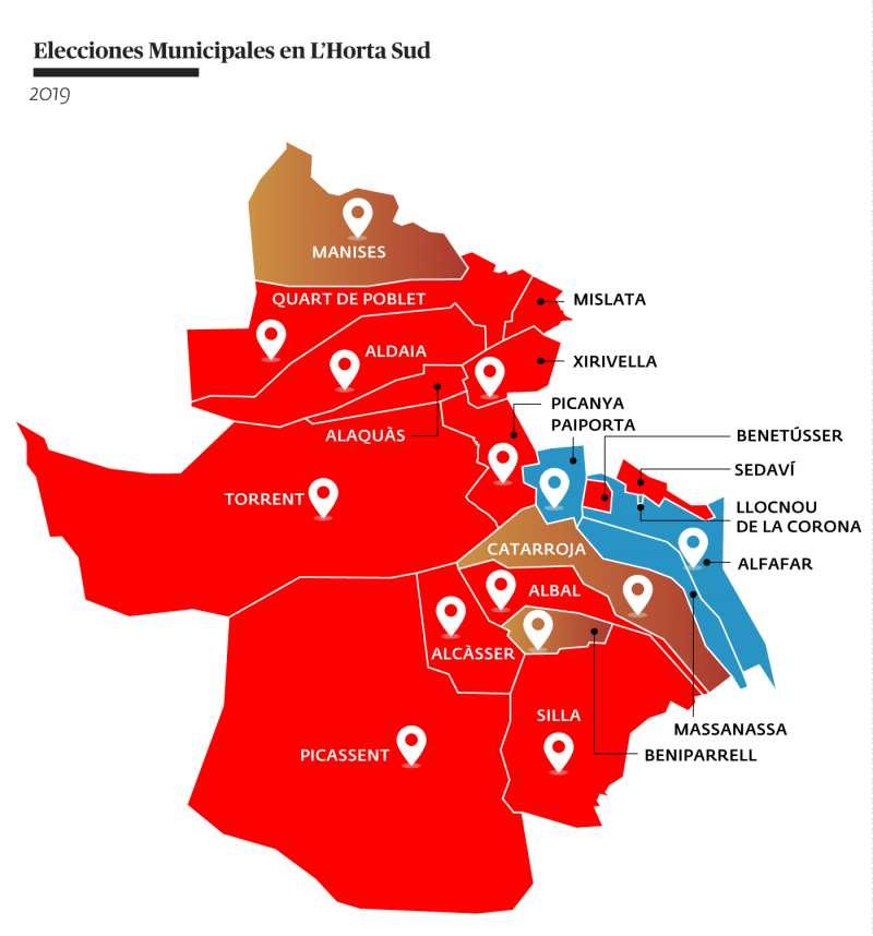 Resultado de las elecciones municipales 2019