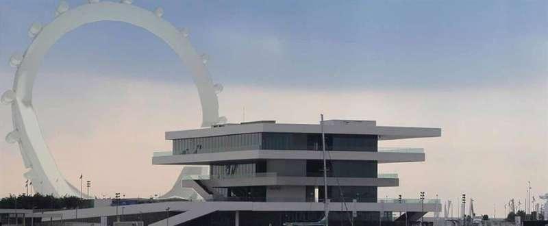 Recreación de la noria en La Marina, facilitada por los promotores. EFE/Archivo