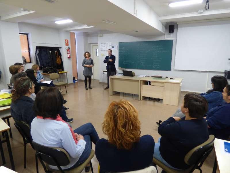 Assistents al programa d?acompanyament en la recerca de treball a Ontinyent. EPDA