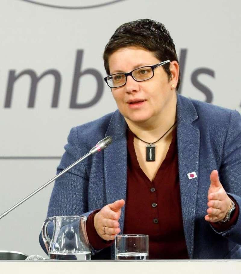 La diputada del PSPV-PSOE, Isabel García. EFE/Archivo