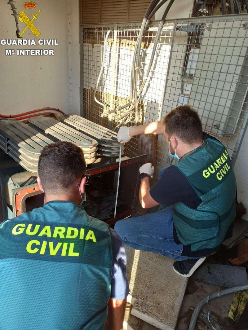 La Guardia Civil en la operación