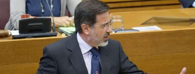 El portavoz de Infraestructuras del Grupo Parlamentario Popular en Les Corts, Alfredo Castelló