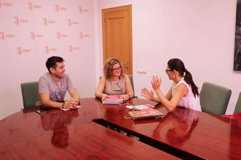 Reunión sobre el proyecto de voluntariado en Mislata. EPDA