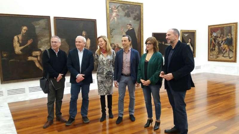 La apertura de la primera planta del Museo de Bellas Artes de València. EPDA