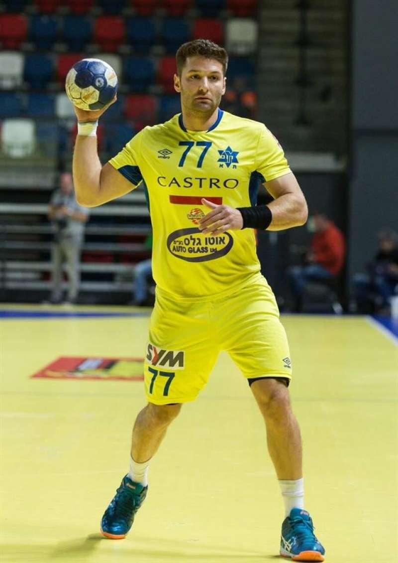 El jugador internacional israelí Chen Pomeranz, último fichaje del Fertiberia. Foto cedida por el club.