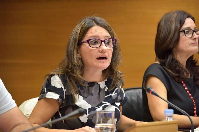 La vicepresidenta i consellera d?Igualtat i Polítiques Inclusives, Mónica Oltra