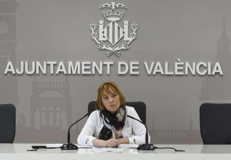 La regidora de València Pilar Soriano. EPDA