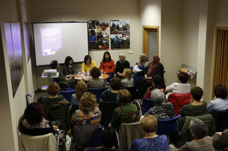 Mesa redonda de igualdad en Quart de Poblet. EPDA