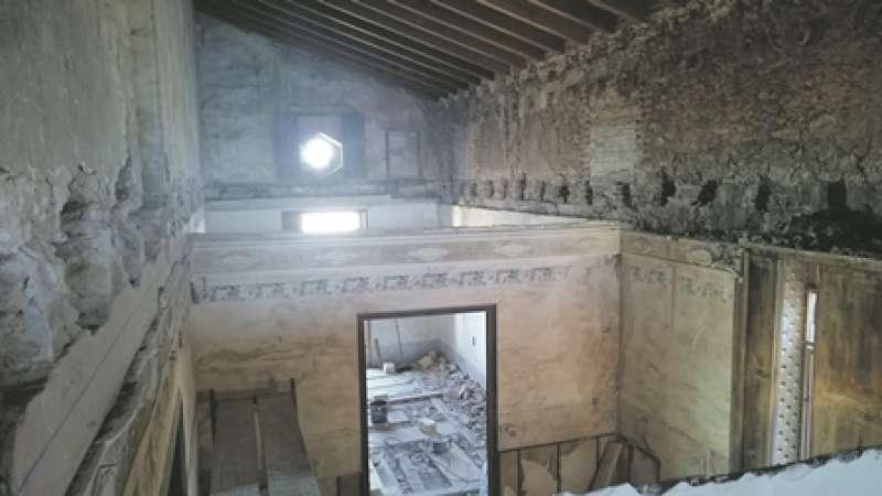 Obres de rehabilitació del palauet de Nolla de Meliana.  EPDA