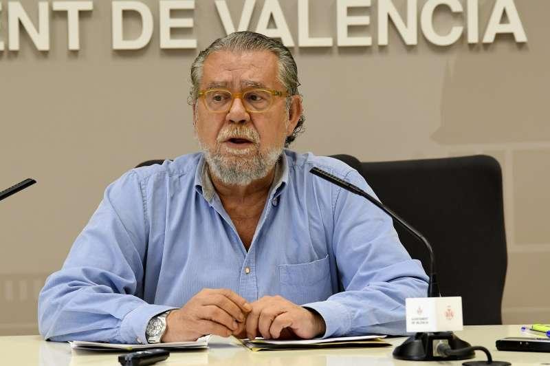 El concejal Ramón Vilar. EPDA