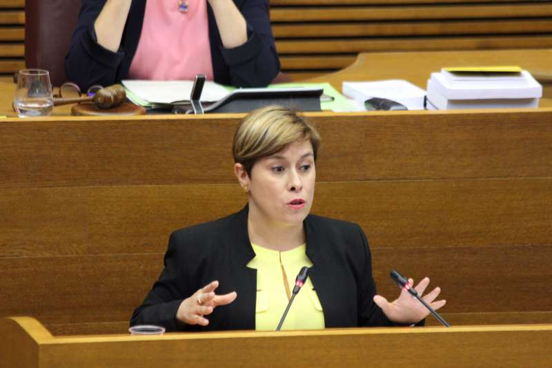 Merche Ventura, diputada de Ciudadanos. EPDA
