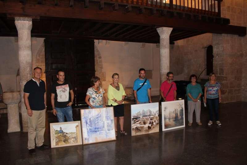 Presentación certamen Pintura Josep Manaut en Llíria.