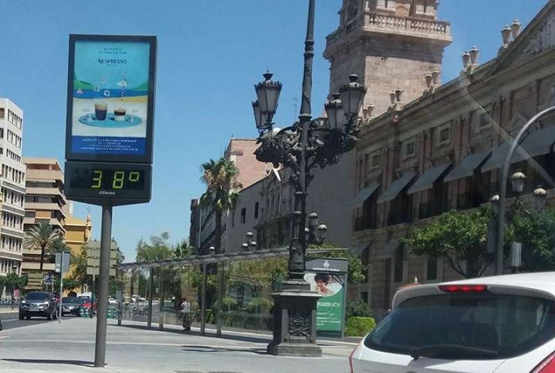 Temperaturas. EPDA.
