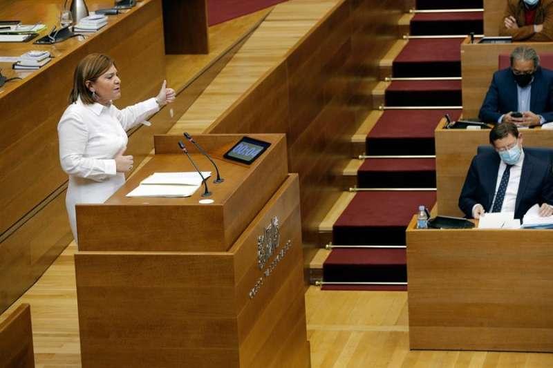 La portavoz del PP en Les Corts y presidenta del PPCV, Isabel Bonig. EFE