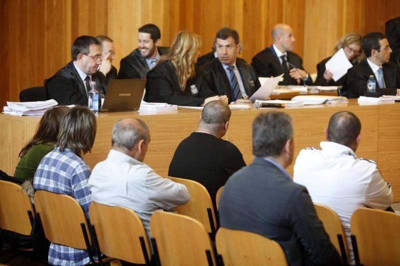 Sala de un juzgado durante una sesión de un juicio. EFE/ Archivo