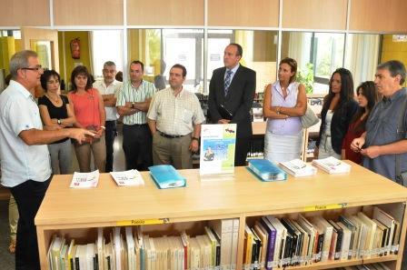 Actividades en la jornada de inauguración del nuevo espacio de la Biblioteca de Paiporta. Foto EPDA
