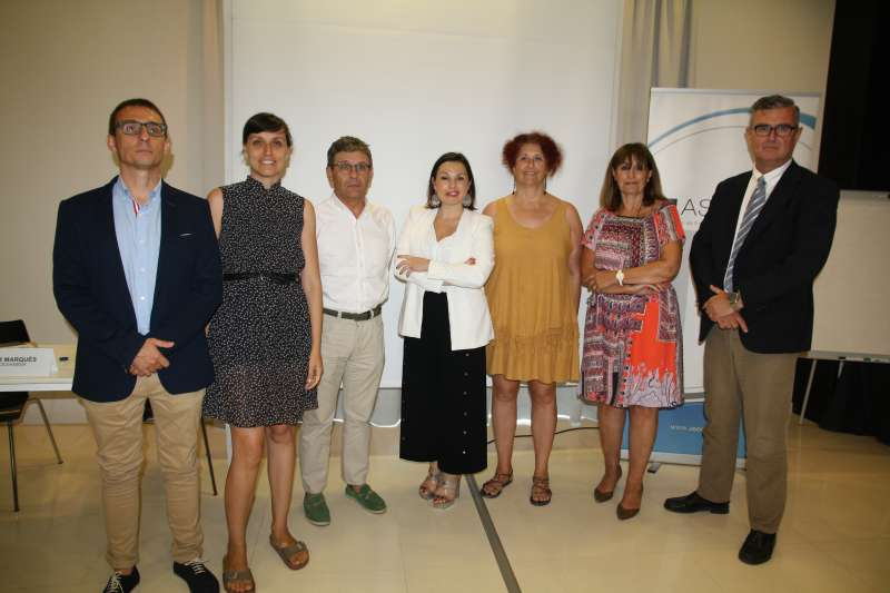 Participantes de la jornada organizada por Asecam. EPDA