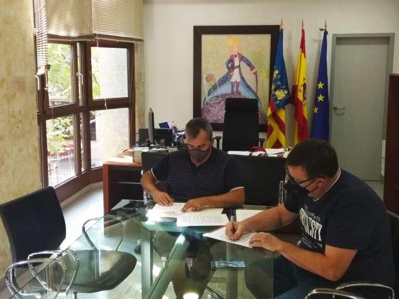 Firma del convenio/EPDA