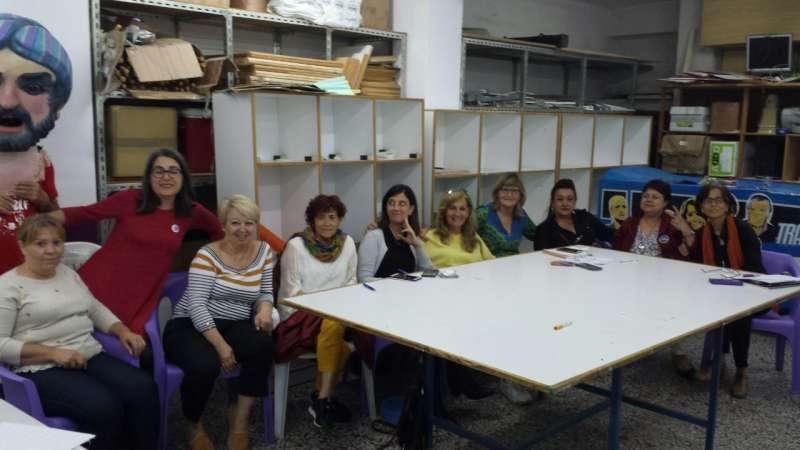 Mujeres que conforman la lista de Ara Alacant.
