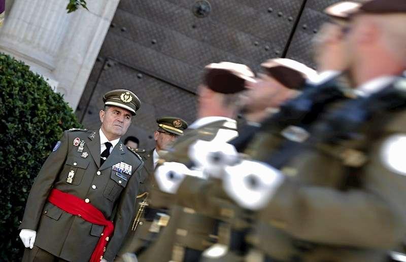 Toma de posesión del anterior jefe del Cuartel General Terrestre de Alta Disponibilidad, el teniente general Francisco José Gan Pampols. EFE