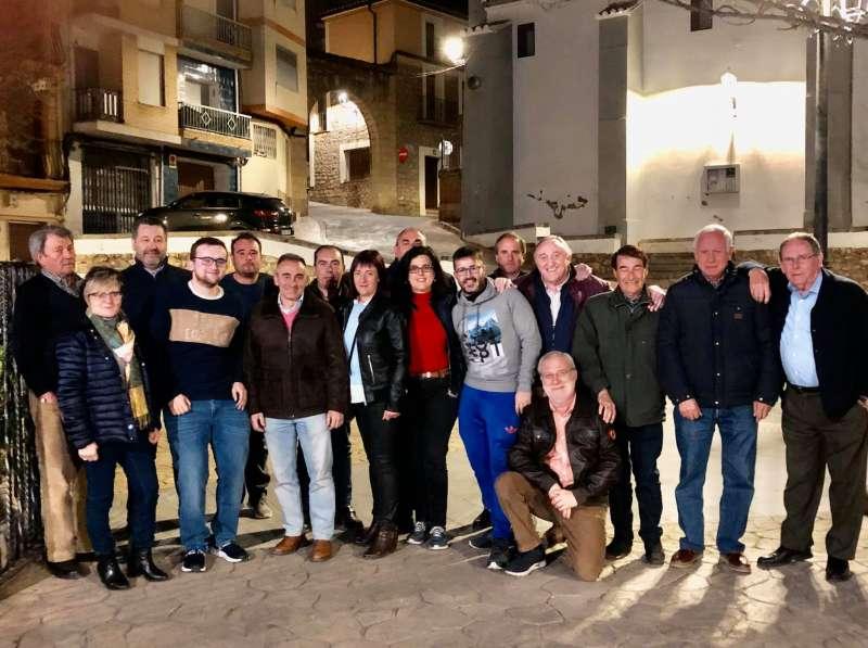 Reunión de alcaldes del PP en Bejís este pasado fin de semana