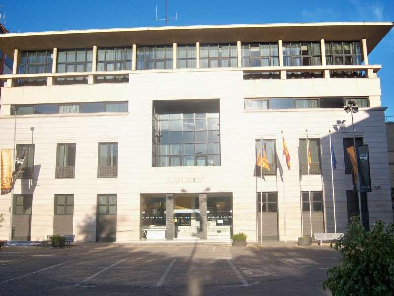 El ayuntamiento de Borriana. //EPDA
