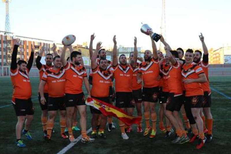 El equipo torrentino de rugby. EPDA