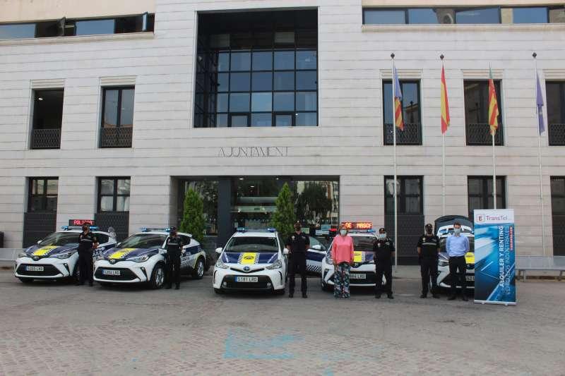 Parc mòbil de la Policia Local de Borriana/EPDA